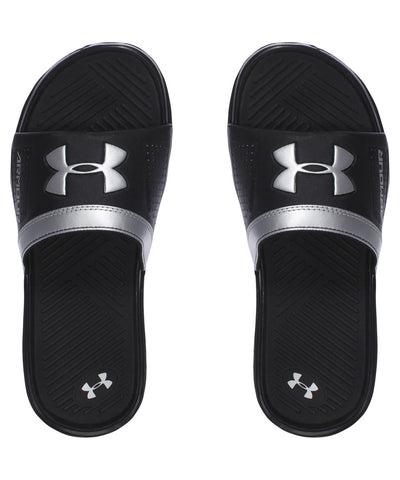 UNDER ARMOUR PLAYMAKER VI BOYS SANDALS BLACK