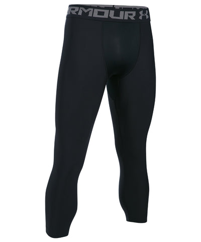UNDER ARMOUR HEAT GEAR ARMOUR 2.0 LEGGINGS - BLACK