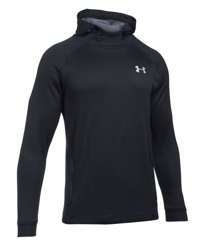 UNDER ARMOUR TECH TERRY POPOVER MEN'S HOODIE BLACK