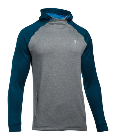 UNDER ARMOUR TECH TERRY POPOVER MEN'S HOODY GREY