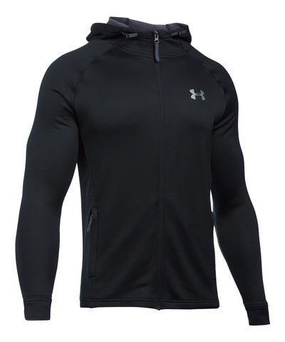 UNDER ARMOUR TECH TERRY FULL ZIP MEN'S HOODY BLACK