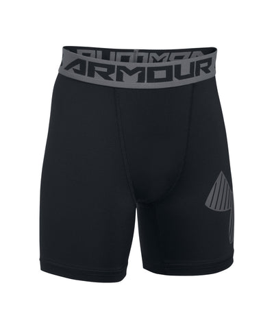 UNDER ARMOUR MID KIDS SHORTS BLACK