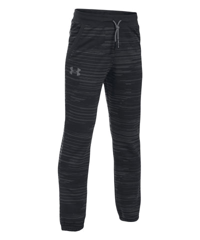 UNDER ARMOUR SPORTSTYLE JOGGER BOYS SWEATPANTS BLACK