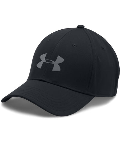 UNDER ARMOUR HEADLINE STRETCH FIT BLACK SR CAP