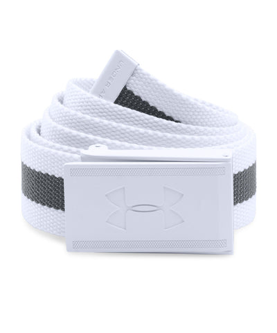 UNDER ARMOUR RANGE 2 MEN'S WEBBING BELT WHITE