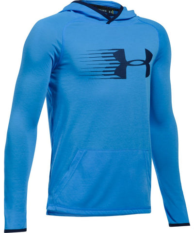 UNDER ARMOUR JR THREADBORNE HOODY BLUE INFINITY