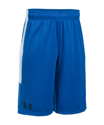 UNDER ARMOUR STUNT PRINTED KIDS SHORTS BLUE