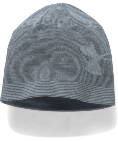 UNDER ARMOUR MEN'S BILLBOARD BEANIE 2.0 STEEL