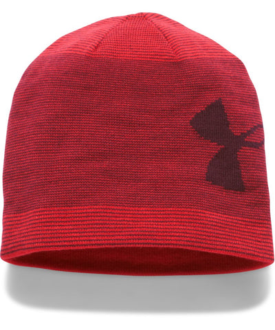 UNDER ARMOUR MEN'S BILLBOARD BEANIE 2.0 RED