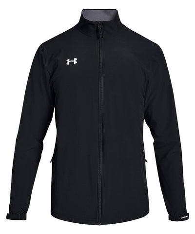 UNDER ARMOUR SR HOCKEY WARM UP JACKET - BLACK
