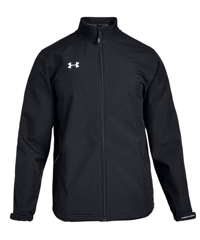 UNDER ARMOUR MEN'S HOCKEY SOFTSHELL JACKET - BLACK