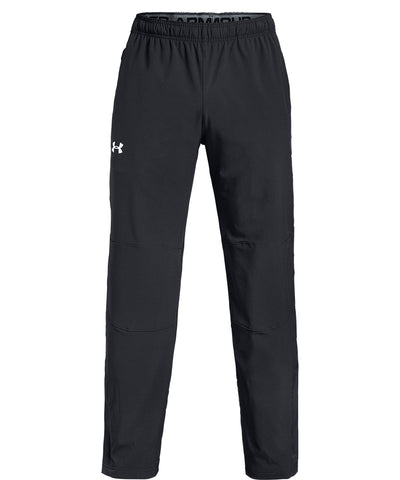 UNDER ARMOUR SR HOCKEY WARM UP PANTS - BLACK