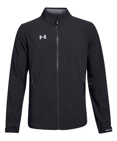 UNDER ARMOUR JR HOCKEY WARM UP JACKET - BLACK