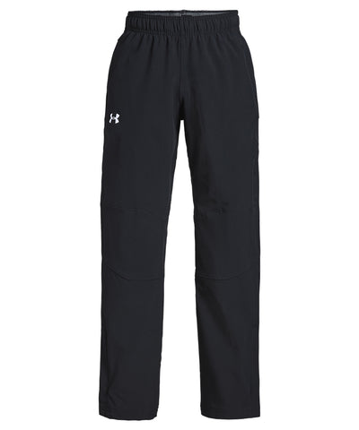 UNDER ARMOUR JR HOCKEY WARM UP PANTS - BLACK