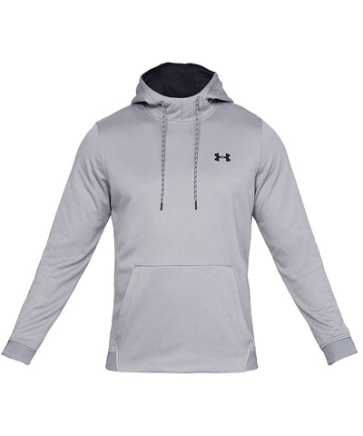 UNDER ARMOUR MEN'S ARMOUR FLEECE PO HOODIE - GREY