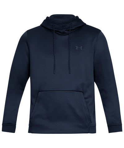 UNDER ARMOUR MEN'S ARMOUR FLEECE PO HOODIE - NAVY