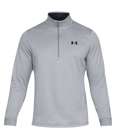 UNDER ARMOUR MEN'S ARMOUR FLEECE 1/2 ZIP - GREY