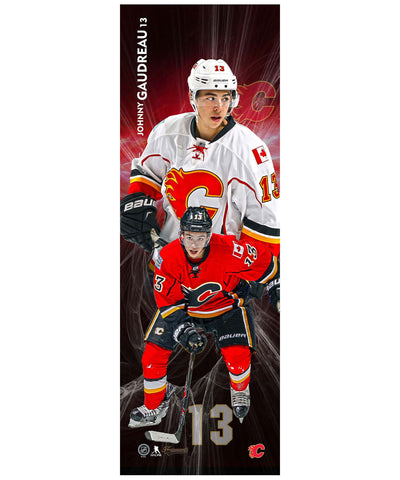 FRAMEWORTH VERTICAL PLAYER CALGARY FLAMES GAUDREAU PLAQUE