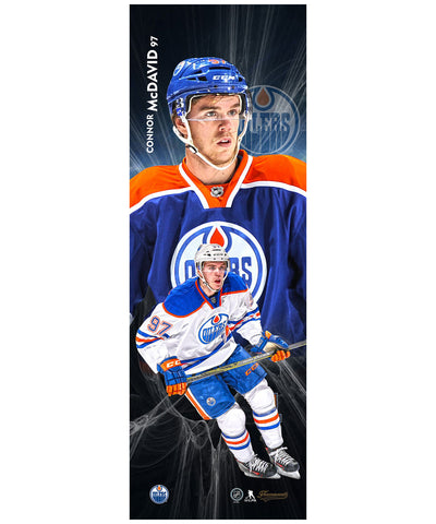 FRAMEWORTH CONNOR MCDAVID 5X15 PLAQUE