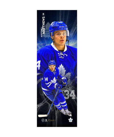 FRAMEWORTH TORONTO MAPLE LEAFS MATTHEWS 5X15 PLAQUE