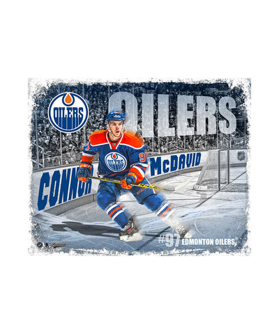 FRAMEWORTH CONNOR MCDAVID 8X10 PLAQUE