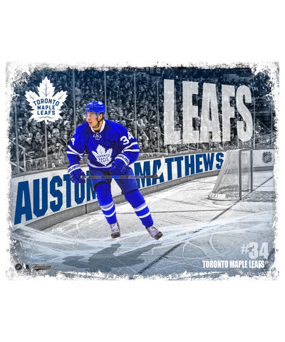FRAMEWORTH TORONTO MAPLE LEAFS MATTHEWS 8X10 PLAQUE