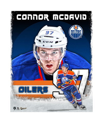 FRAMEWORTH CONNOR MCDAVID 11X15 PLAQUE