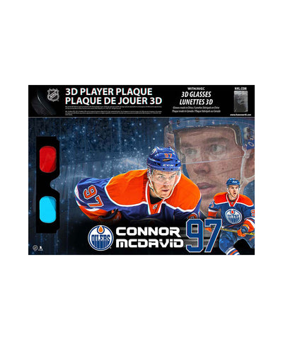 FRAMEWORTH CONNOR MCDAVID 8.5X14 3D PLAQUE