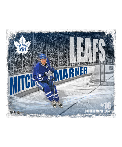 FRAMEWORTH TORONTO MAPLE LEAFS MARNER 16X20 PLAQUE