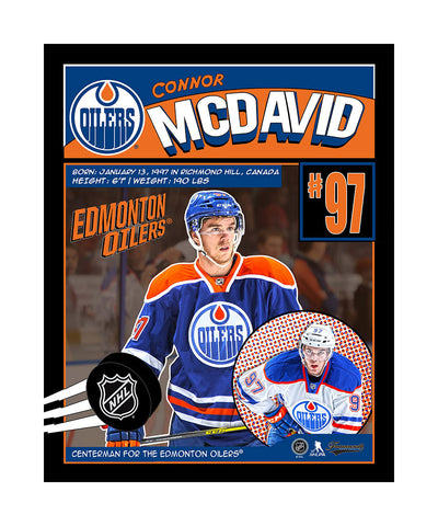 FRAMEWORTH CONNOR MCDAVID 16X20 PLAQUE