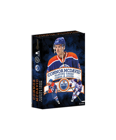 FRAMEWORTH EDMONTON OILERS MCDAVID PLAYING CARDS