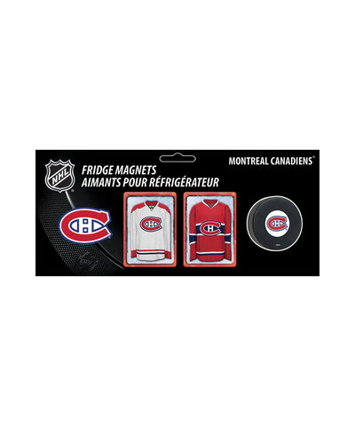 FRAMEWORTH MONTREAL CANADIENS 2PC MAGNET SET