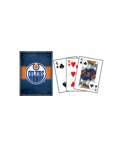 FRAMEWORTH EDMONTON OILERS PLAYING CARDS