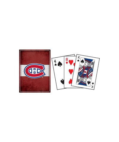 FRAMEWORTH MONTREAL CANADIENS PLAYING CARDS