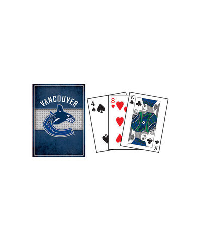 FRAMEWORTH VANCOUVER CANUCKS PLAYING CARDS