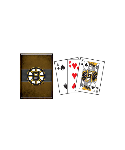 FRAMEWORTH BOSTON BRUINS PLAYING CARDS