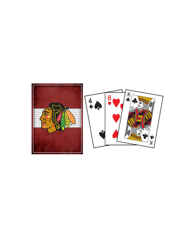 FRAMEWORTH CHICAGO BLACKHAWKS PLAYING CARDS