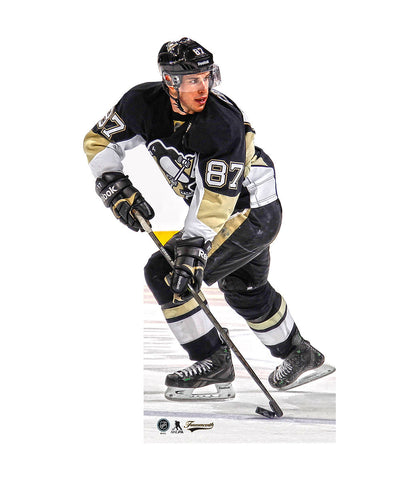 FRAMEWORTH SIDNEY CROSBY PITTSBURGH PENGUINS NHL PLAYER STANDEE