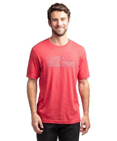 TRAVIS MATHEW MEN'S LIFE CHAMPION T SHIRT