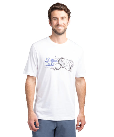 TRAVIS MATHEW MEN'S SHOTGUN START T SHIRT