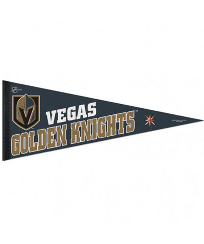 SPORTS ART COLLECTIONS VEGAS GOLDEN KNIGHTS SPORTS ART PENNANT