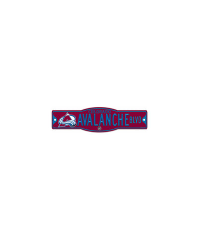 COLORADO AVALANCHE STREET SIGN