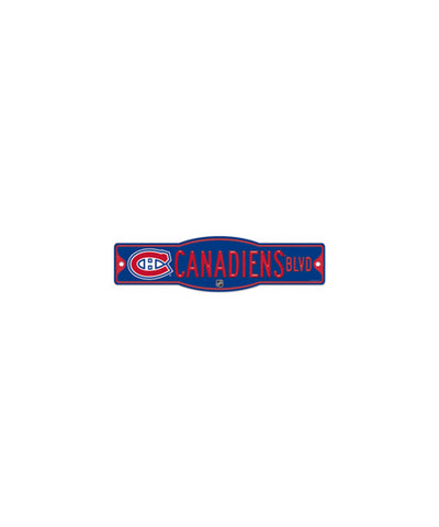 MONTREAL CANADIENS STREET SIGN