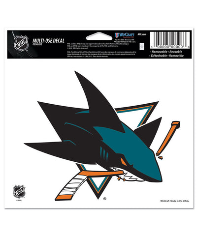SAN JOSE SHARKS ULTRA DECAL