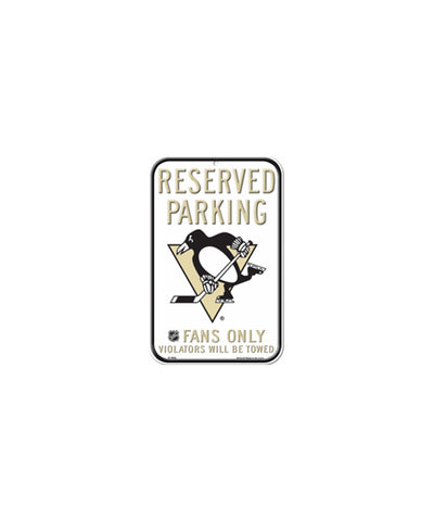 PITTSBURGH PENGUINS RESERVED PARKING SIGN