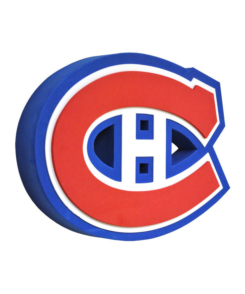 Montreal canadiens 3d fan foam logo pro hockey life - Canadiens hockey logo ...