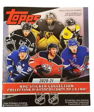 2021 TOPPS NHL STICKER ALBUM