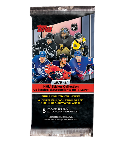2021 TOPPS NHL STICKERS
