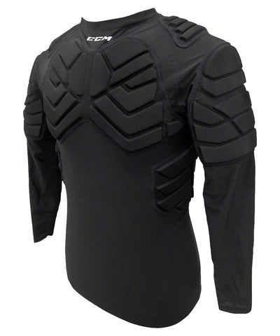 CCM JUNIOR PADDED GOALIE LONG SLEEVE TOP