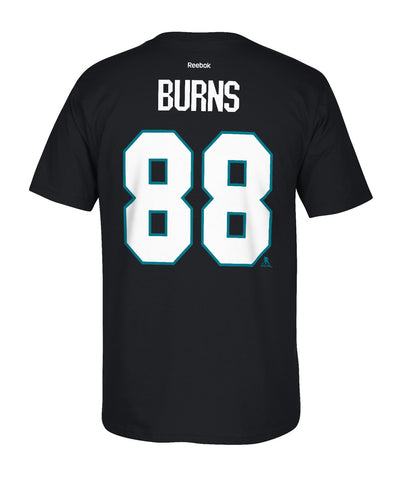 REEBOK SAN JOSE SHARKS BURNS #88 SR T-SHIRT